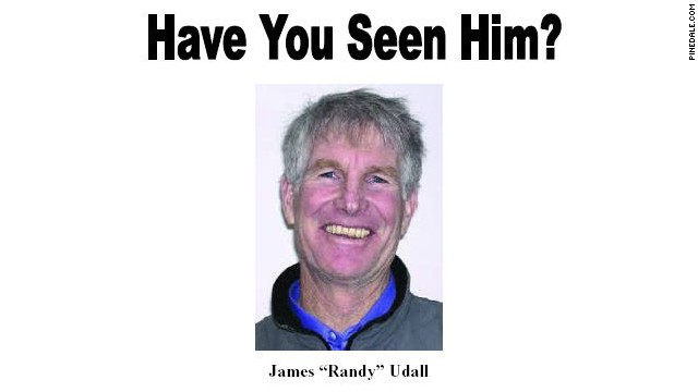 A flyer featuring Randy Udall's picture is being circulated during the search for him.
