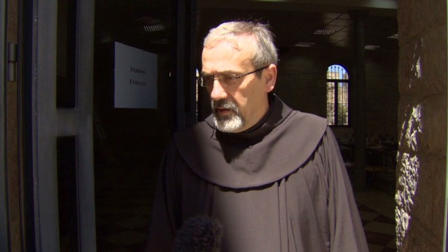 Friar denies beheading of Syrian monk