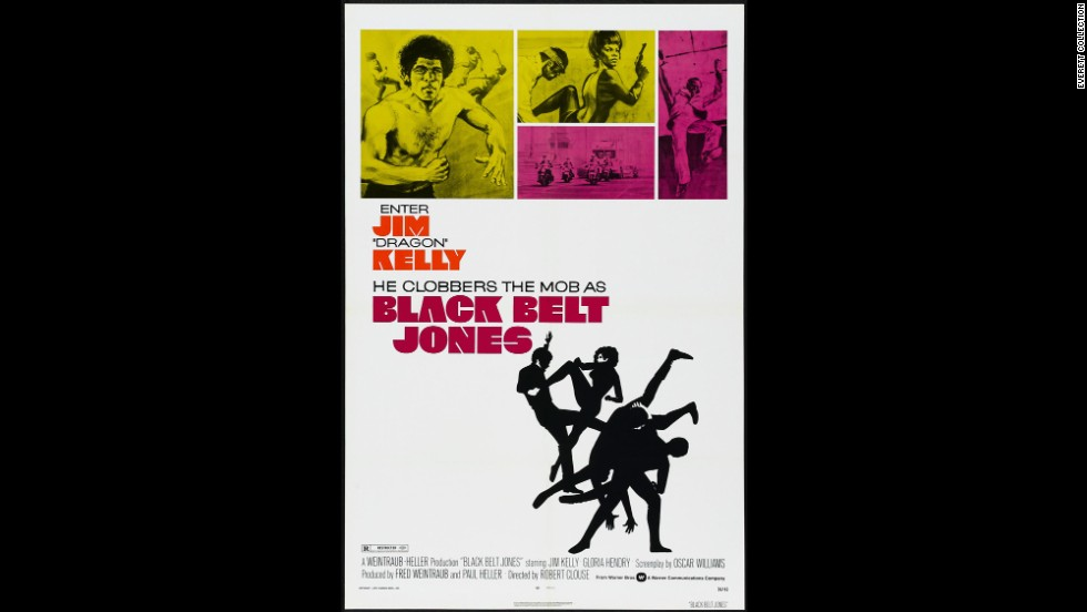 "Kelly starred in ""Black Belt Jones."""