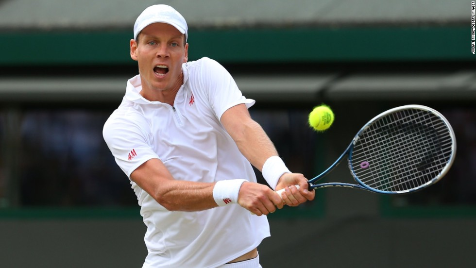Czech Republic's Tomas Berdych enjoyed his best World Tour Finals in 2011, when he reached the semifinals.