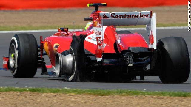 Pirelli says its tires are not to blame for the blow-outs that hit six drivers at the British Grand Prix