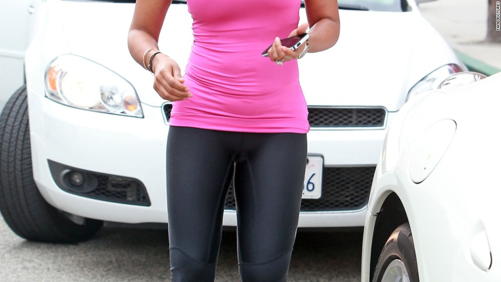 "New ""America's Got Talent"" judge Mel B is ready for a post-lunch workout on July 2."