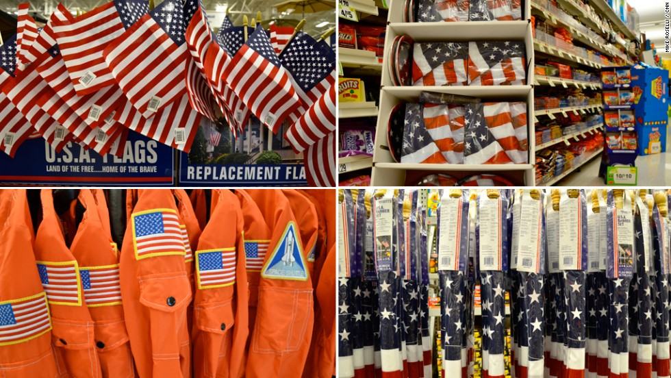 $302.7 million -- that's the annual dollar amount spent on American flags, banners and other stars and stripes emblems sold in the United States. That figure is from 2007 Economic Census data -- the latest figure available.