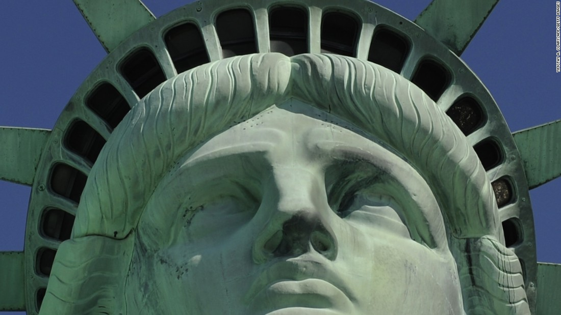 The statue's crown reopens to the public on July 4, 2008. It had been closed since the September 11 attacks.