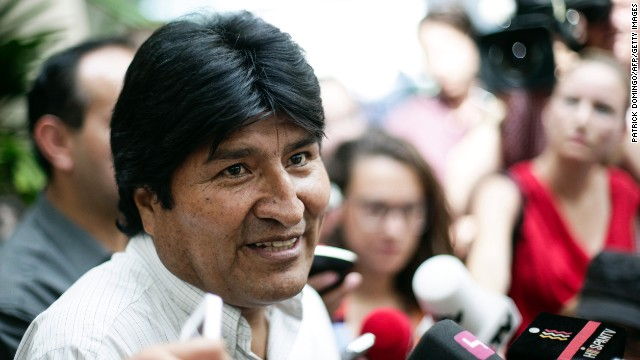 Bolivia blames U.S. for national insult