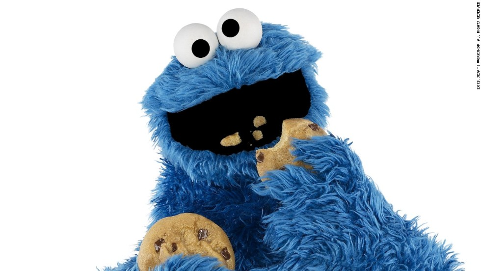 """Om nom nom nom"" -- <strong>Cookie Monster</strong>'s voracious appetite for his favorite chocolate chip treats have endeared him to viewers since ""Sesame Street's"" first season. He's even managed to fit in teaching some important lessons: Thanks to him, generations of kids have grown up knowing that ""C"" is for cookie."