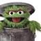 sesame street muppet oscar grouch