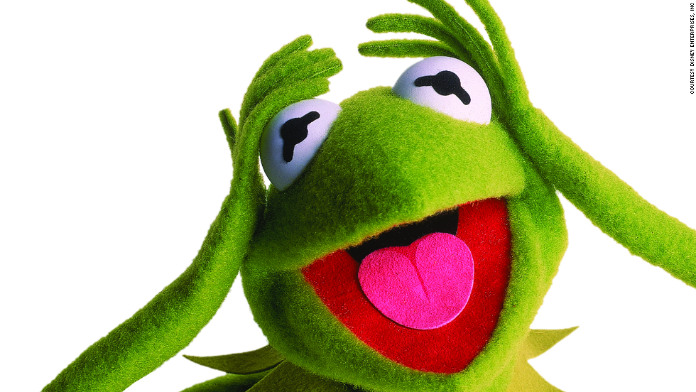 "The Muppet Show made him a star, but <strong>Kermit the Frog</strong> had begun winning younger fans on ""Sesame Street,"" explaining to kids that ""It's Not Easy Bein' Green"" for the first time in 1970."