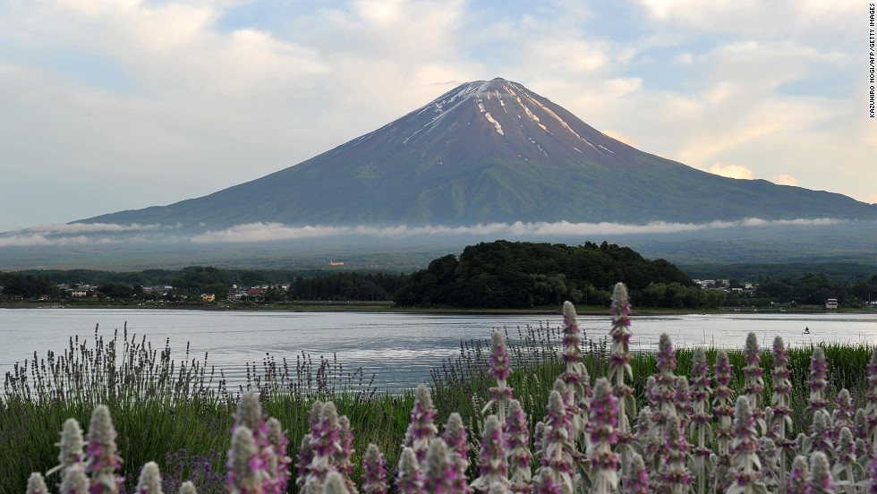 Mount Fuji can be accessed by bus from Tokyo in roughly two hours. It has been worshiped for centuries and immortalized in countless works of art.