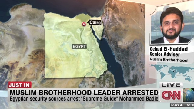 Muslim Brotherhood leader arrested