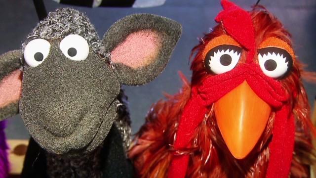 Puppet masterclass with 'Sesame Street'