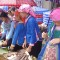 women selling rice