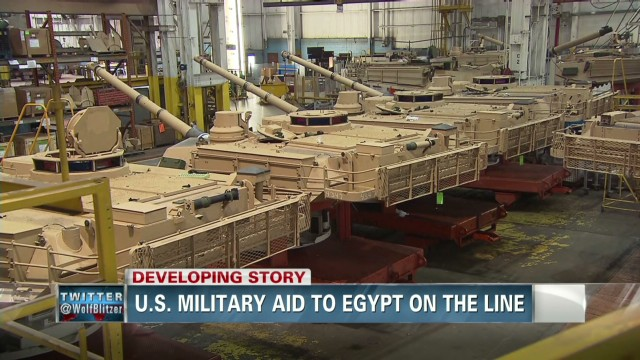 U.S. military aid to Egypt on the line