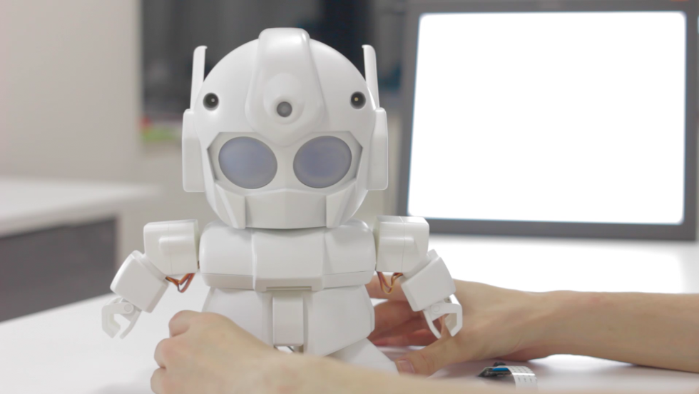 Rapiro's creator, Shota Ishiwatari, has started a Kickstarter campaign to help fund Rapiro. It has raised over $65,000 so far, with more than a month remaining. Those who pledge $350 will receive their very own robot.