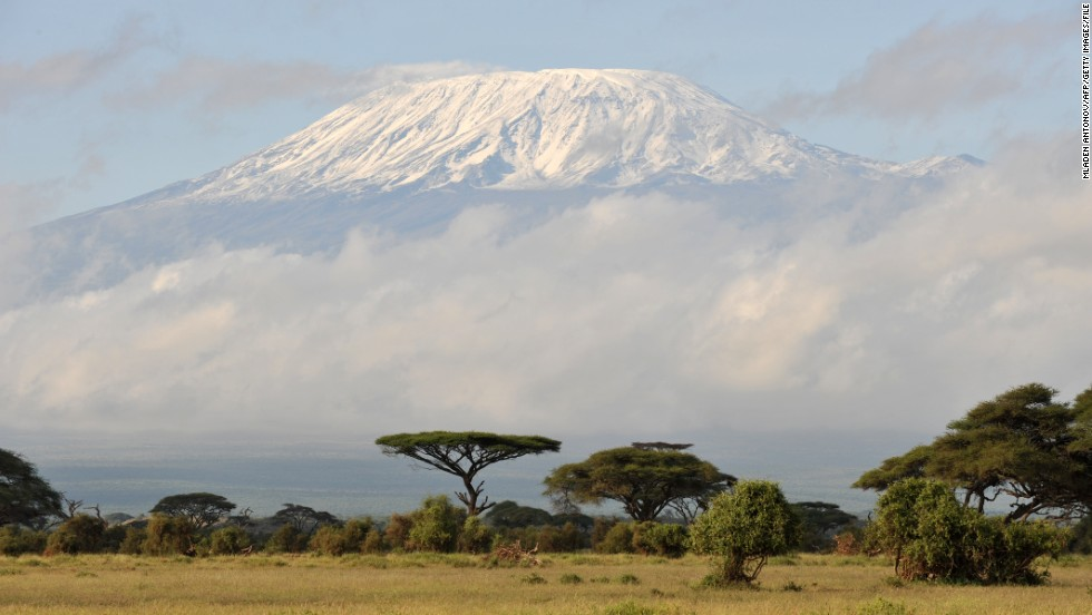 Spend Christmas hiking Mount Kilimanjaro (seen here at sunrise from Amboseli game reserve in Kenya) on this energetic tour, with your arrival to the summit timed to sunrise if possible.