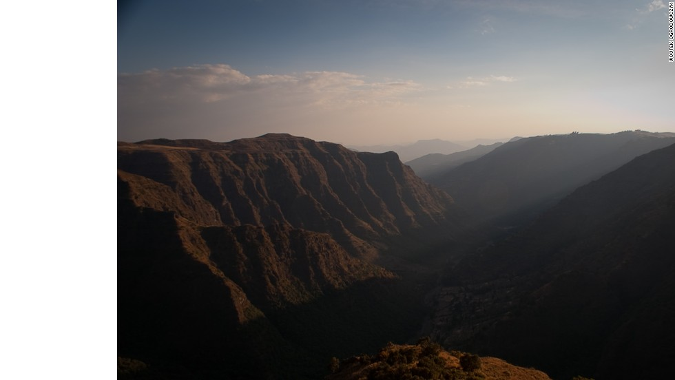 Climb up the dramatic summits of the Simien Mountains in Ethiopia to experience the spectacular scenery and overwhelming views. <em>Peak: 4,533 meters.</em>