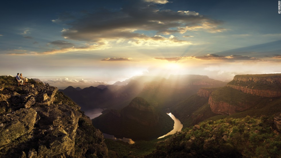 """""""A lot of people like to go and hike there because it's absolutely stunning,"""" says Sunit Sanghrajka, president of U.S.-based travel group Alluring Africa. """"The scenery is fantastic."""""""