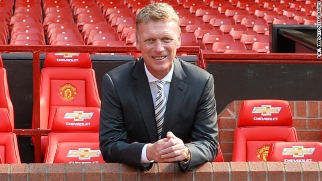 Scotland's David Moyes managed Everton between 2002 and 2013.