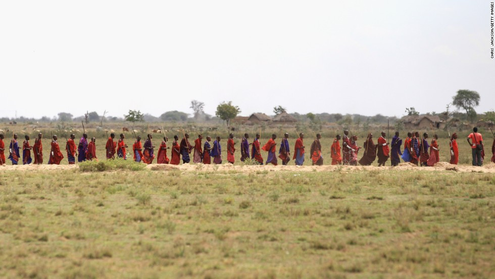 Campaigners hope that international attention will help the Maasai maintain their ancient way of life.