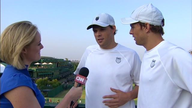 Bryan brothers win Wimbledon