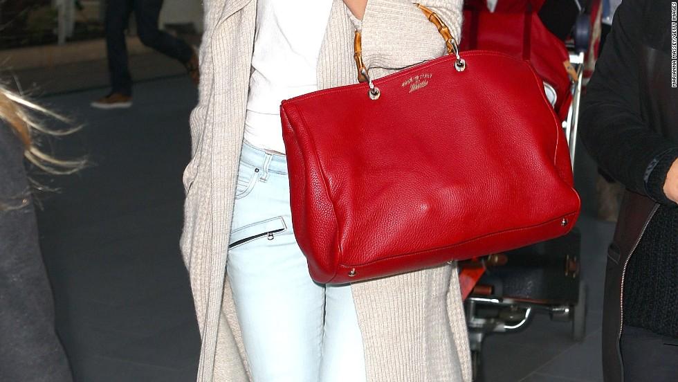 Rosie Huntington-Whiteley arrives in Sydney, Australia on July 8.