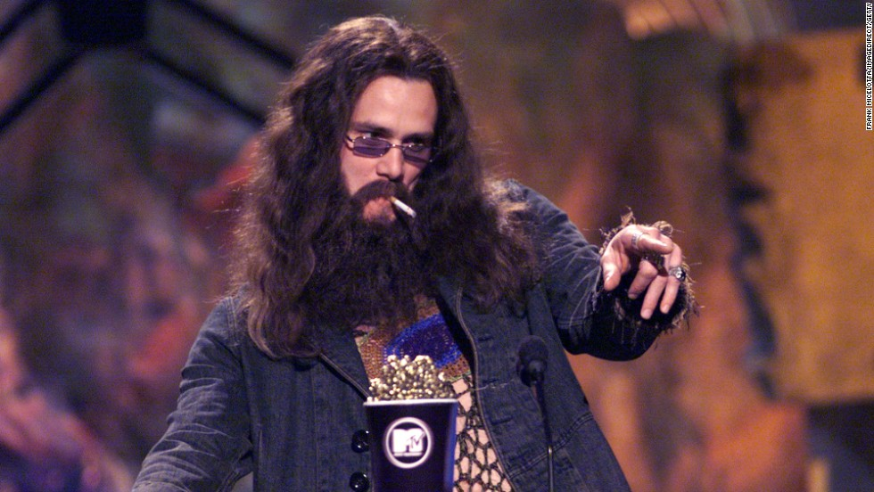 Carrey at the 1999 MTV Movie Awards.