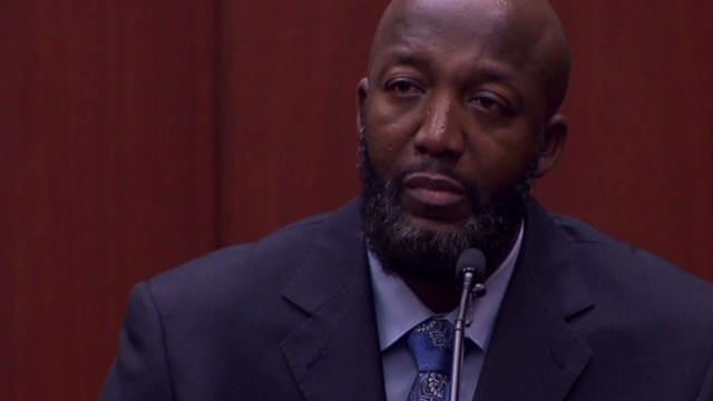 Trayvon Martin's father testifies