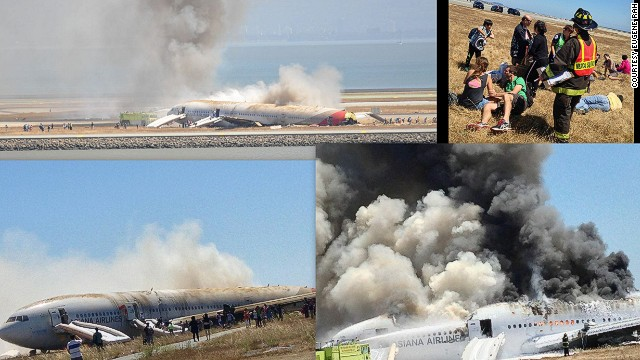 Asiana crash: Rescuing the survivors