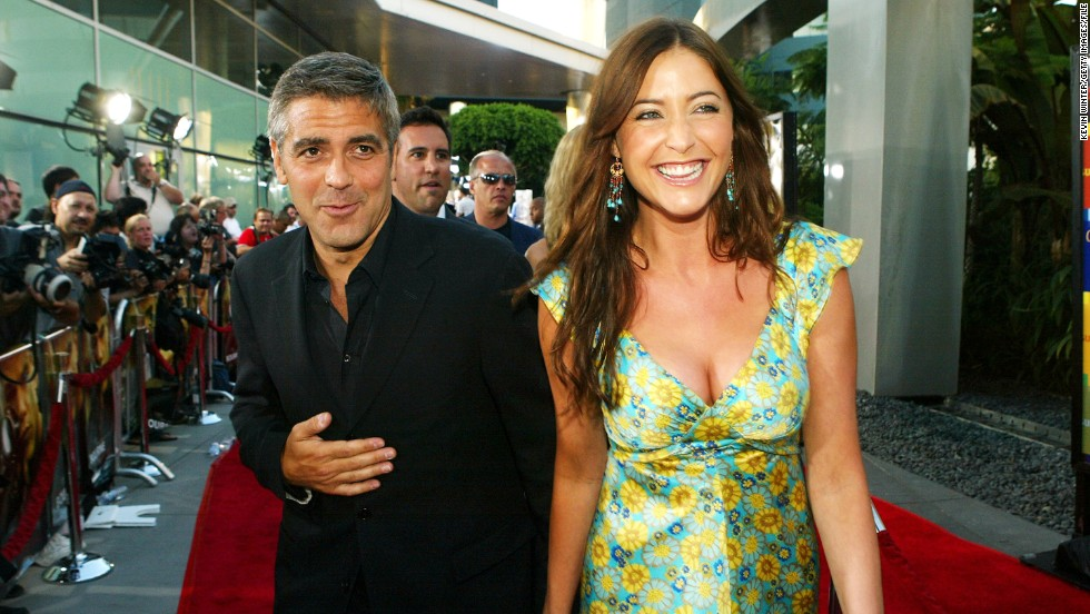 <strong>Lisa Snowdon</strong>: Clooney dated British model and media personality Lisa Snowdon on and off for about five years after reportedly meeting her on the set of a commercial in 2000.
