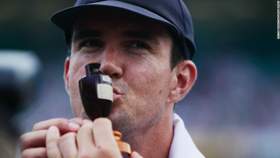 England's Kevin Pietersen is one of the most recognizable figures in world cricket. The batsman came to prominence during the 2005 series victory over Australia.