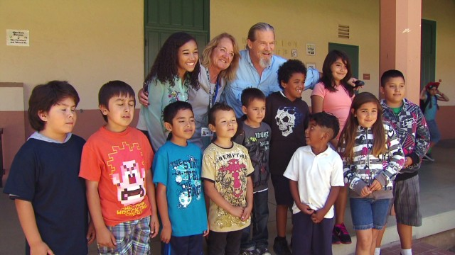 Jeff Bridges wants to see no kid hungry