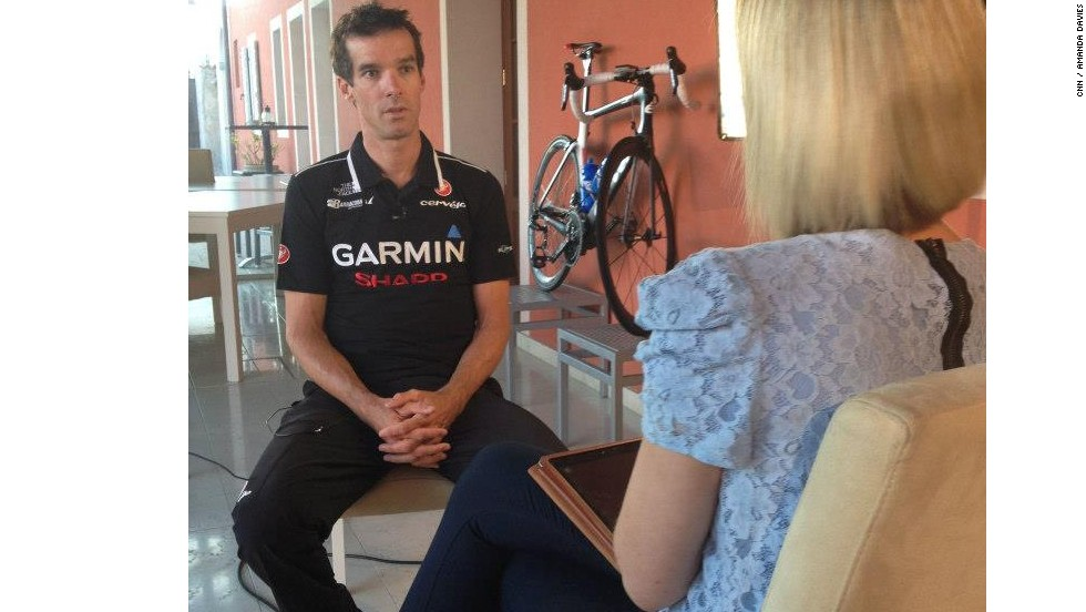 British cyclist David Millar sits down with CNN's Amanda Davies ahead of the 2013 Tour de France.