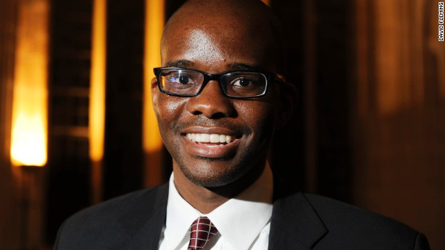Nigeria's Tope Folarin, winner of the 2013 Caine Prize.