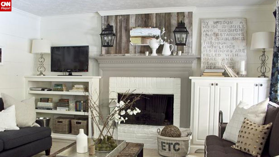 "<a href=""http://ireport.cnn.com/docs/DOC-1001099"">Anisa Darnell</a> of Roswell, Georgia, designed this cottagey living room for clients. This room was featured on HGTV's ""Design Wars."""