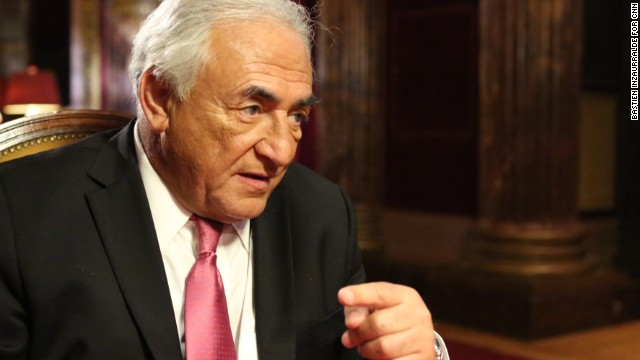 "Dominique Strauss-Kahn doesn't want a Belgian sex club to use the initials ""D.S.K."""
