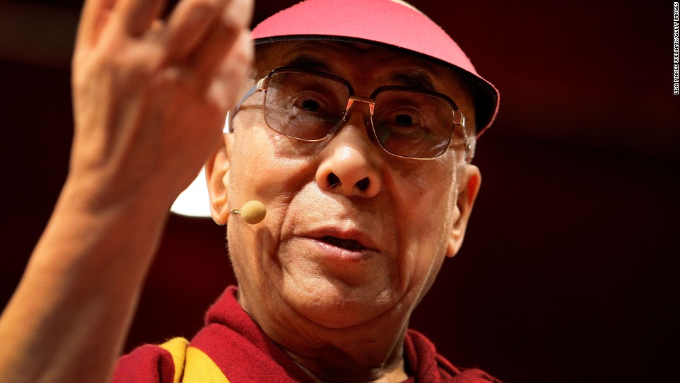 """I call myself a feminist. Isn't that what you call someone who fights for women's rights?"" said the Dalai Lama during his International Freedom Award acceptance speech, presented in 2009 by the National Civil Rights Museum."