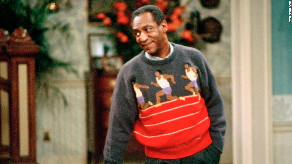 "One favorite Cosby sweater, <a href=""http://billcosby.com/polls"" target=""_blank"">according to fans</a>, is this one featuring knitted runners. It also represents one of Cosby's greatest passions, running track."
