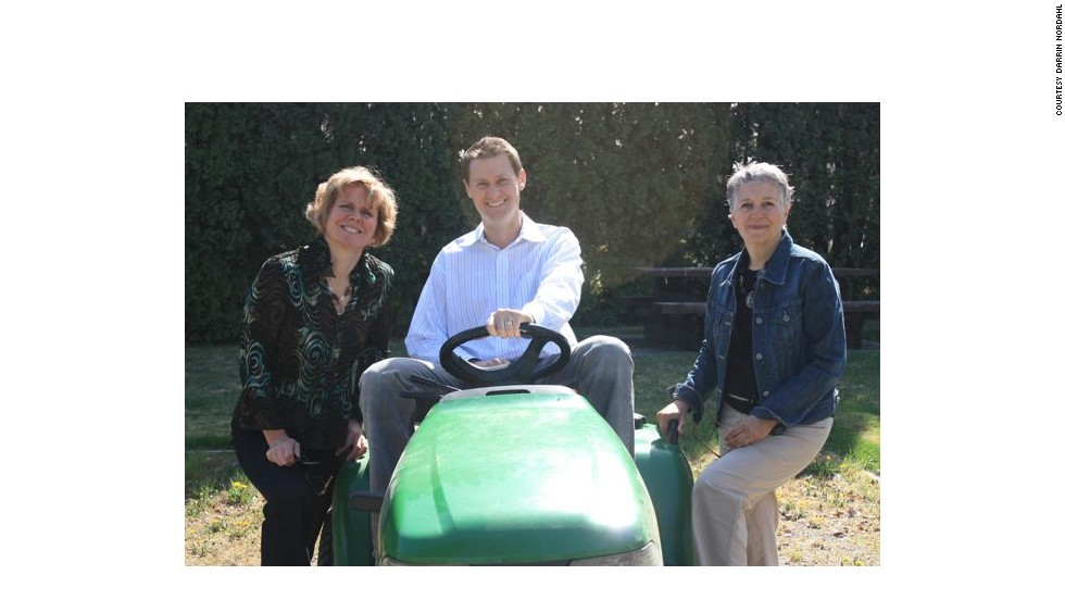 Fellow community activists Laura Kalina (left), Elaine Sedgeman (right) and Nordahl have been instrumental in creating the Kamloops Public Produce Project in British Columbia, Canada.