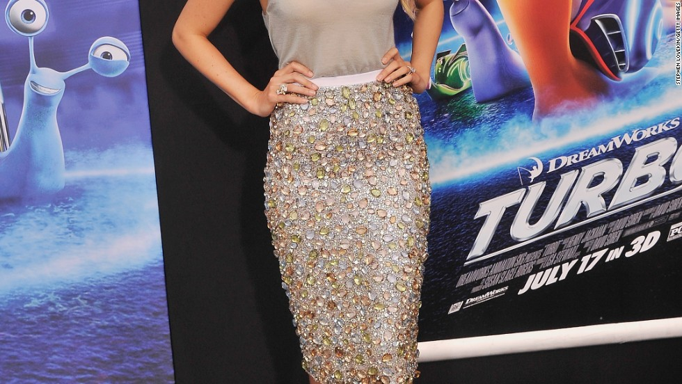 """Blake Lively attends the New York premiere of her husband Ryan Reynolds' new movie, """"Turbo,"""" on July 9."""
