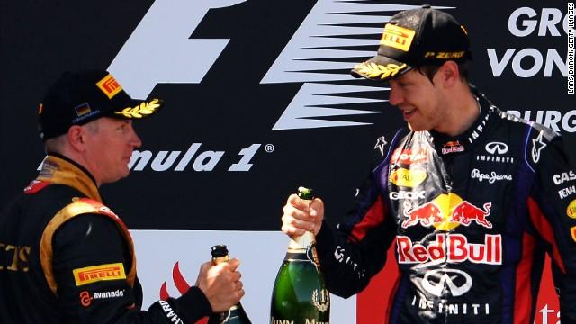 With Red Bull chasing Kimi Raikkonen, left, the Finn and Sebastian Vettel could be teammates next season.