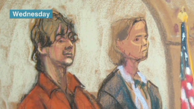 Boston bombing suspect arraigned