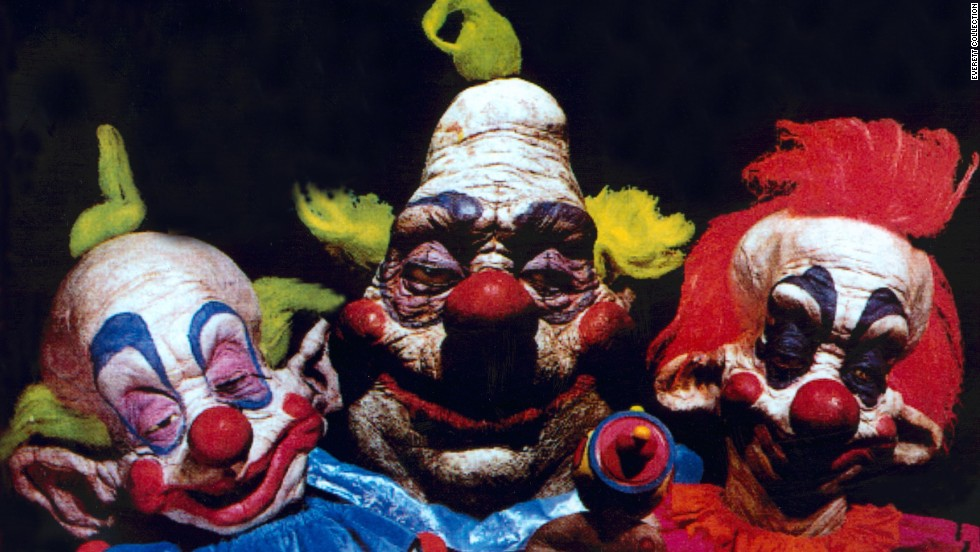 "EyeKantSpeell suggested another low-budget film -- ""Gawd nobody has yet to mention 'Killer Klowns From Outer Space' pure classic!"" So we added this 1988 ""masterpiece.""<br />"