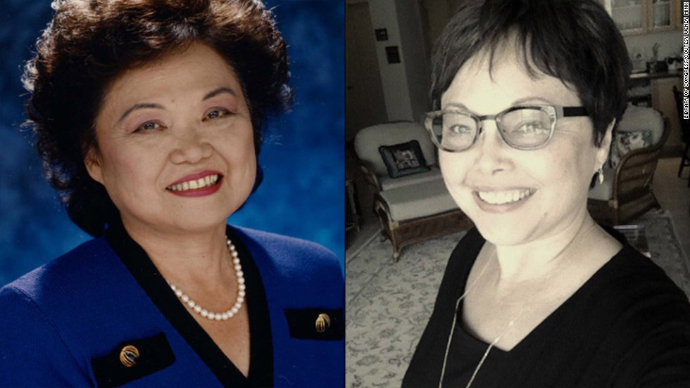 "U.S. Rep. Patsy Takemoto Mink co-authored Title IX, the women's educational equity act. <a href=""http://inamerica.blogs.cnn.com/2012/06/23/how-a-mother-changed-the-world-for-her-daughter/"">Her daughter, Wendy Mink, </a>became a professor, author and activist. In 2002, when Mink died, Title IX was renamed the Patsy Mink Equal Opportunity in Education Act. ""I never had in my dreams and expectation ... that it would change entirely the notion of careers for women,"" Patsy Mink said in a documentary about her life."