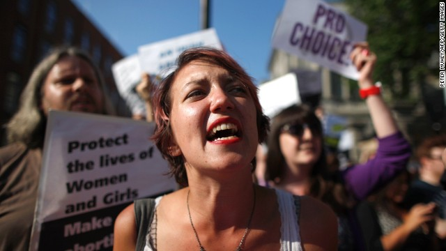 Ireland abortion bill vote