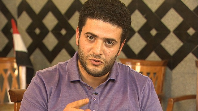 "In the first interview with a relative of deposed president Mohamed Morsy, CNN gets a unique access to Morsy's son, Osama. Morsy is being held at an undisclosed location ""for his own safety""."
