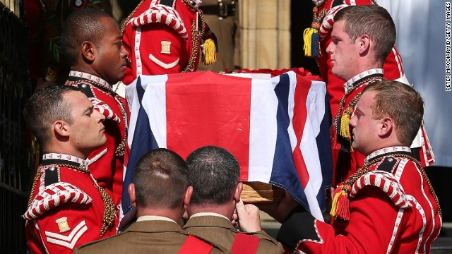 Family mourns slain British soldier