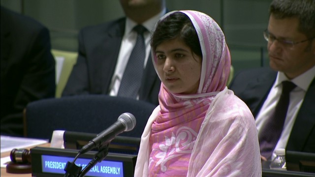 Malala: Taliban failed to silence us