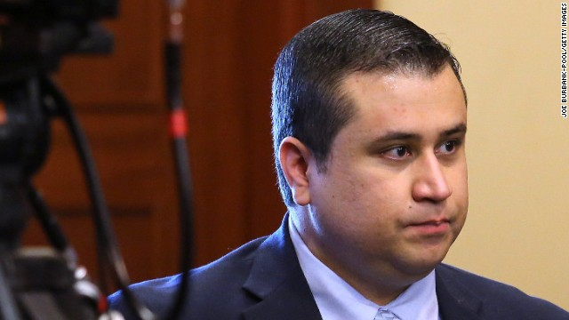 SANFORD, FL - JULY 12: Defendant George Zimmerman arrives in the courtroom for closing arguments in his murder trial July 12, 2013 in Sanford, Florida. Judge Debra Nelson has ruled that the jury can also consider a lesser manslaughter charge along with the second-degree murder charge in the shooting death of Trayvon Martin. (Photo by Joe Burbank-Pool/Getty Images)
