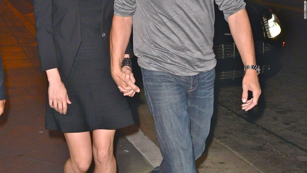 "Anna Paquin and Stephen Moyer had a night out in Hollywood at a ""True Blood"" afterparty on July 11."
