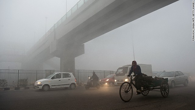 New Delhi: Air pollution accounts for over 500,000 deaths in India annually, a new study says.